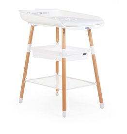 Childhome Childhome - Table d'allaitement Evolux - Blanc Naturel