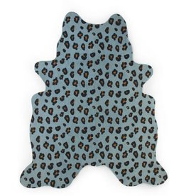Childhome Kindertapijt Leopard 145x160 Cm - Blauw