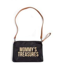 Childhome Mommy's Treasures Clutch - Zwart Goud