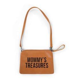 Childhome Mommy's Treasures Clutch - Lederlook Bruin