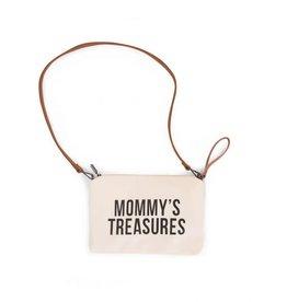 Childhome Mommy's Treasures Clutch - Ecru Zwart