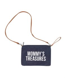Childhome Mommy's Treasures Clutch - Navy Wit