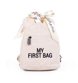 Childhome My First Bag Kinderrugzak - Teddy Ecru