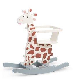 Childhome Schommel Giraf + Beugel - MDF Bruin Geel