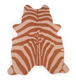 Childhome Kindertapijt Zebra 145x160 Cm - Nude