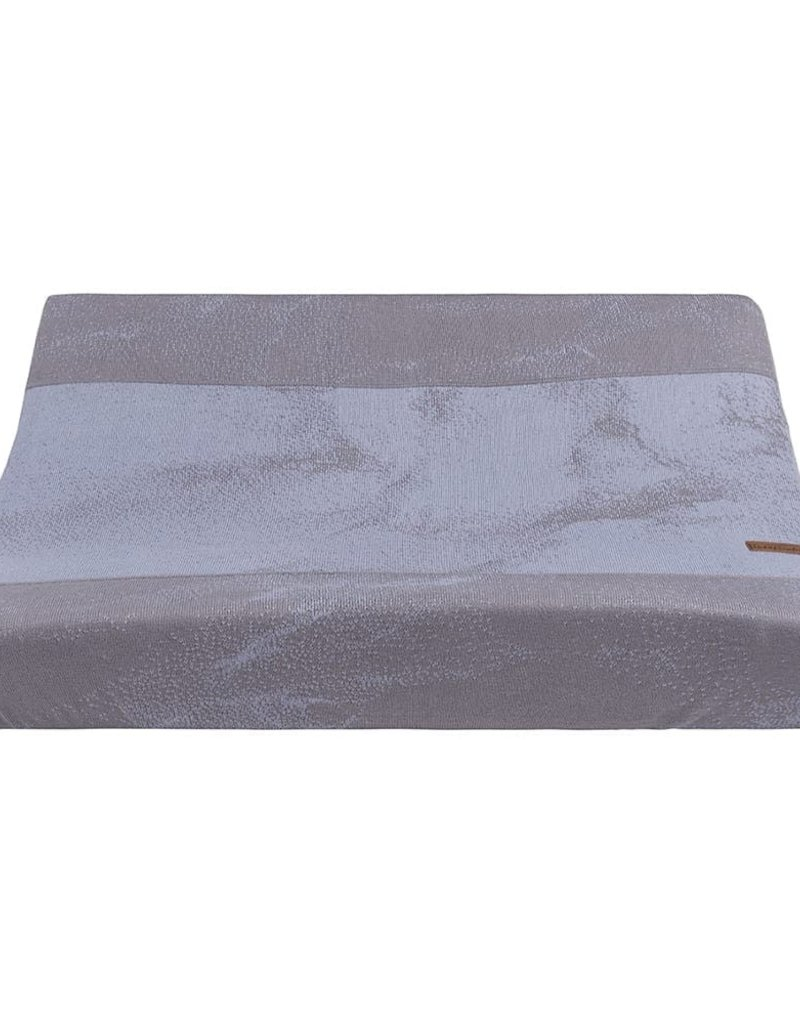 Baby's Only Aankleedkussenhoes Marble cool grey/lila