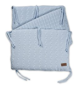 Baby's Only Bedbumper Cable baby blauw