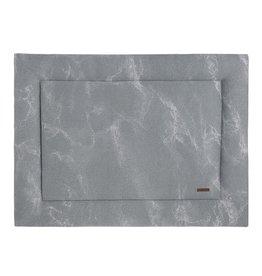 Baby's Only Boxkleed 75x95 Marble grijs/zilvergrijs