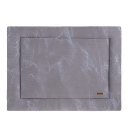 Baby's Only Boxkleed 75x95 Marble cool grey/lila