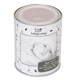 Baby's Only Muurverf 1 liter oud roze
