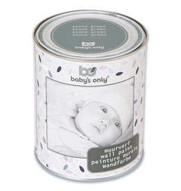 Baby's Only Muurverf 1 liter stonegreen