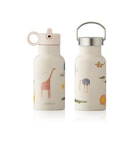 Liewood Liewood - Anker Water Bottle 350ml Safari sandy mix