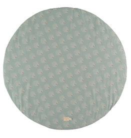 Nobodinoz Full moon Small Round playmate 105x105 White gatsby / Antique green