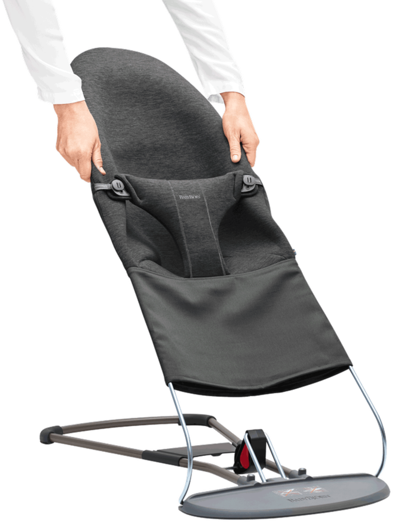 BabyBjörn Extra fabric seat for bouncer bliss 3D Jersey Charcoal Grey