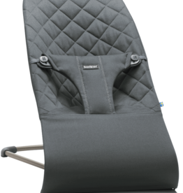 BabyBjörn Bouncer Bliss Anthracite Cotton