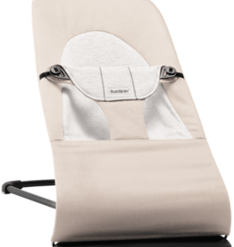 BabyBjörn Bouncer Balance Soft Beige/Gray Cotton/Jersey