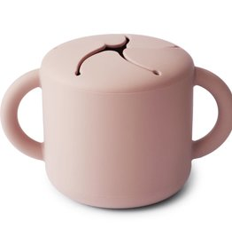 Mushie Snack Cup (Blush)