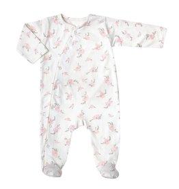 Bonjour Little Babysuit Pansies
