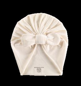 Bonjour Little Knot beanie whipped cream
