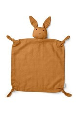 Liewood Agnete Cuddle Cloth - Rabbit mustard