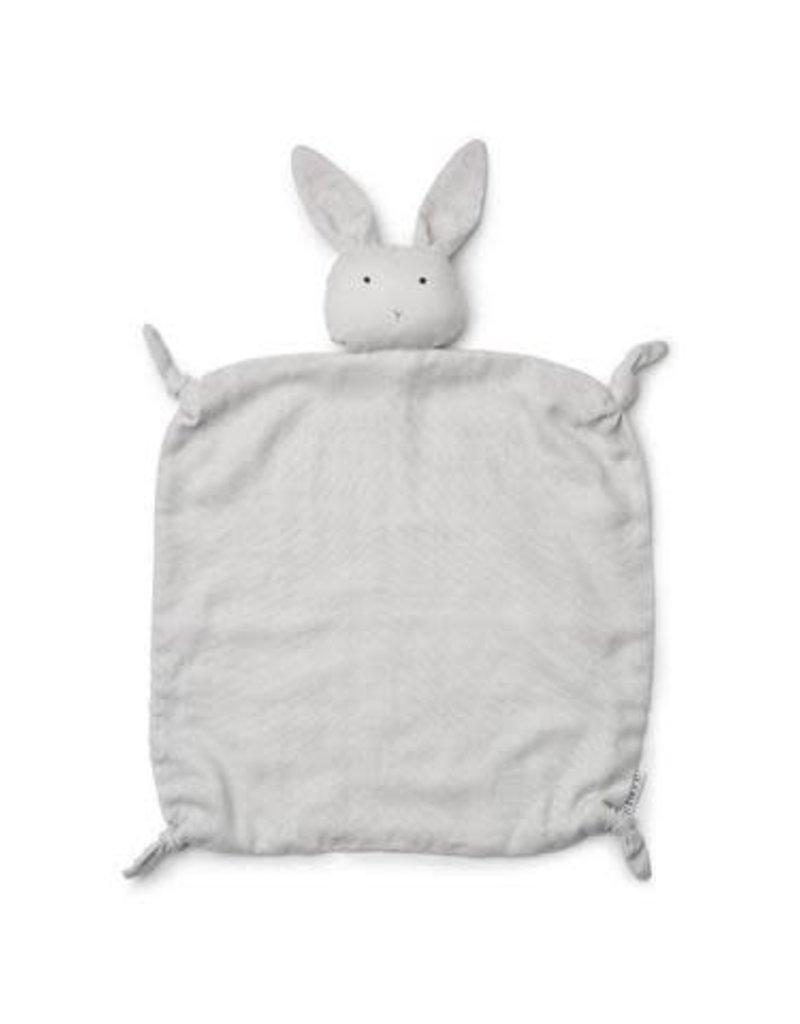 Liewood Agnete Cuddle Cloth - Rabbit dumbo grey