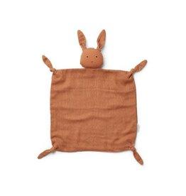 Liewood Agnete Cuddle Cloth - Rabbit sienne