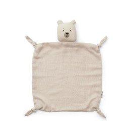 Liewood Agnete Cuddle Cloth - Polar bear sandy