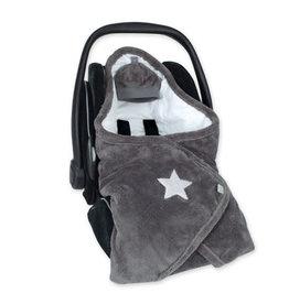 Bemini BISIDE® 0-12m motif étoile gris pady softy + jersey - 492STARY94SF