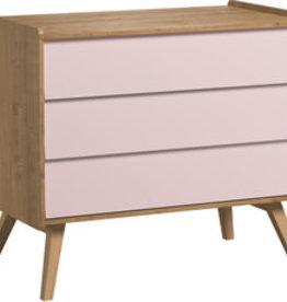 Vox VINTAGE Dresser with 3-drawers Pink