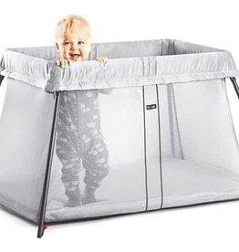 BabyBjörn Travel Crib Light Silver - Mesh incl fitted sheet