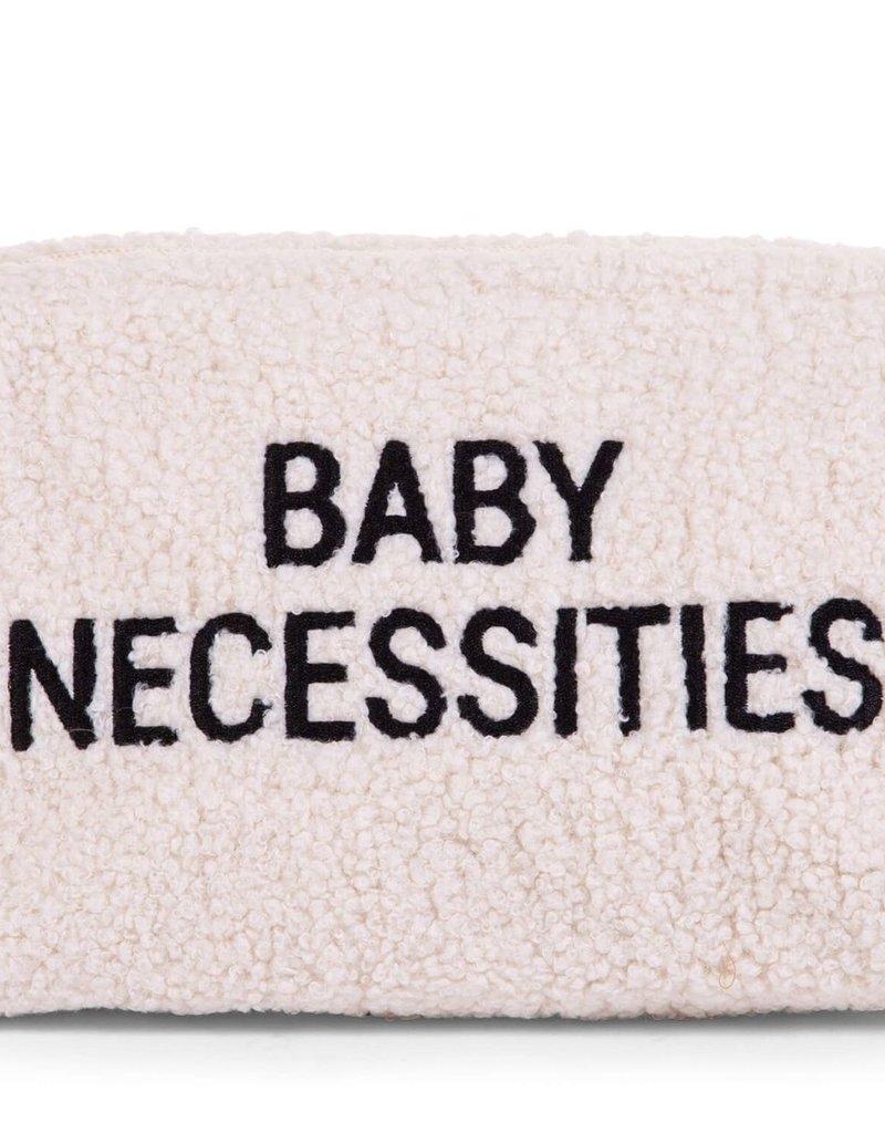 Childhome BABY NECESSITIES TOILETTAS - TEDDY ECRU