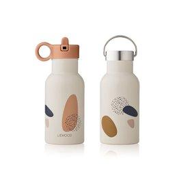 Liewood Anker Water Bottle - 350 ml - Bubbly sandy