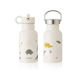 Liewood Anker Water Bottle - 350 ml - Dino mix