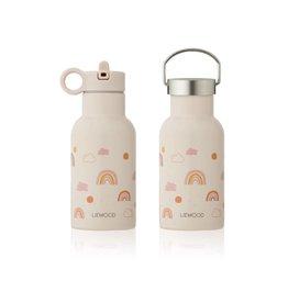 Liewood Anker Water Bottle - 350 ml - Rainbow love mix