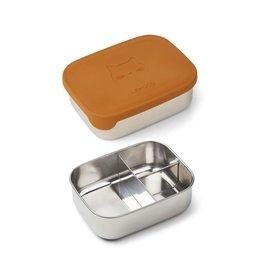 Liewood Arthur Lunch Box - Cat mustard