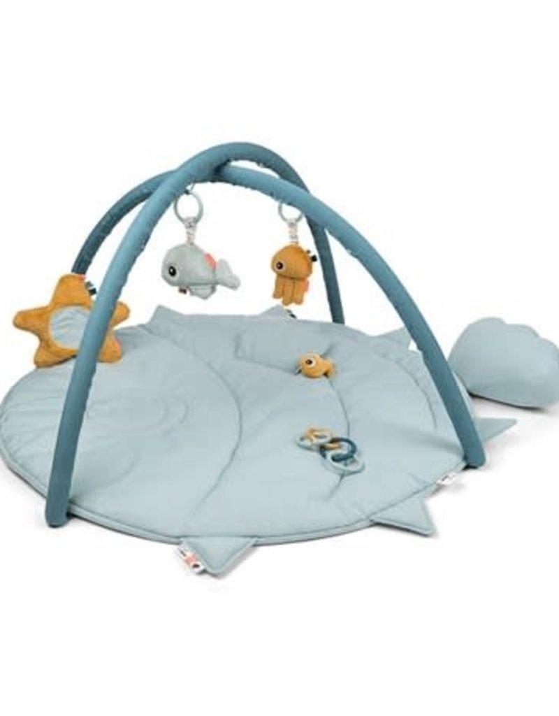 Done by Deer Activity Play mat Sea friends Blue
