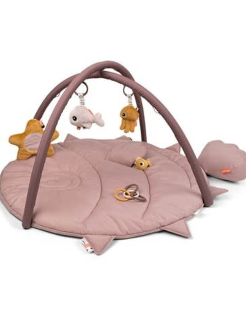Done by Deer Activity Play mat Sea friends Powder