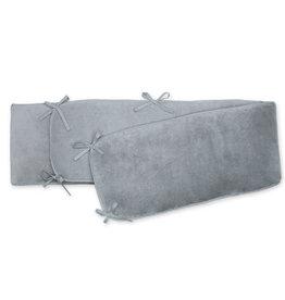 Bemini PARKOMRANDER 75x95x28cm mediumgrijs pady softy + terry - 203SOFTE92SF