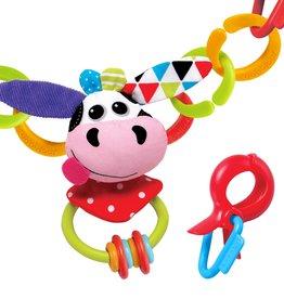 Yookidoo Clips Rattle 'N' Links - Cow