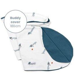 Doomoo Buddy Pillow Cover Dog Blue