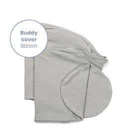 Doomoo Buddy Pillow Cover Fiber Bamboo Grey