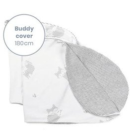 Doomoo Buddy Pillow Cover Fox Grey