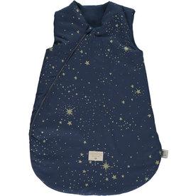 Nobodinoz Cocoon midseason sleeping bag • gold stella night blue 6-18m