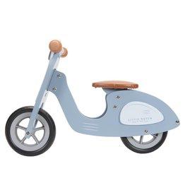 Little Dutch Loopscooter Blauw
