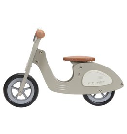 Little Dutch Loopscooter Olijf