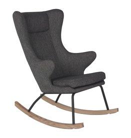 Quax Rocking Adult Chair De Luxe - Black