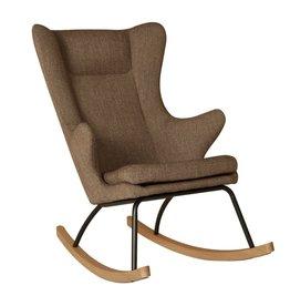 Quax Rocking Adult Chair De Luxe - Latte