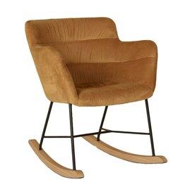 Quax Rocking Adult Chair - Gold