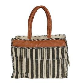 Quax Mom's Bag - Natural & Black