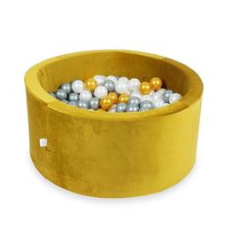 Moje Ballenbad Velvet - Gold - Wit/Grijs/Goud